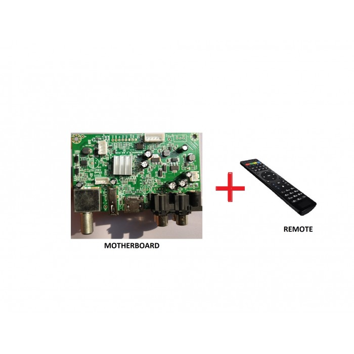 Motherboard Card WITH POWER SUPPLY+REMOTE COMBO MPEG-4 DVB