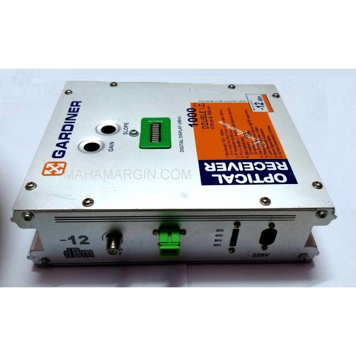 Buy Cash On Delhivery Gardiner Dual Output Optical Receiver